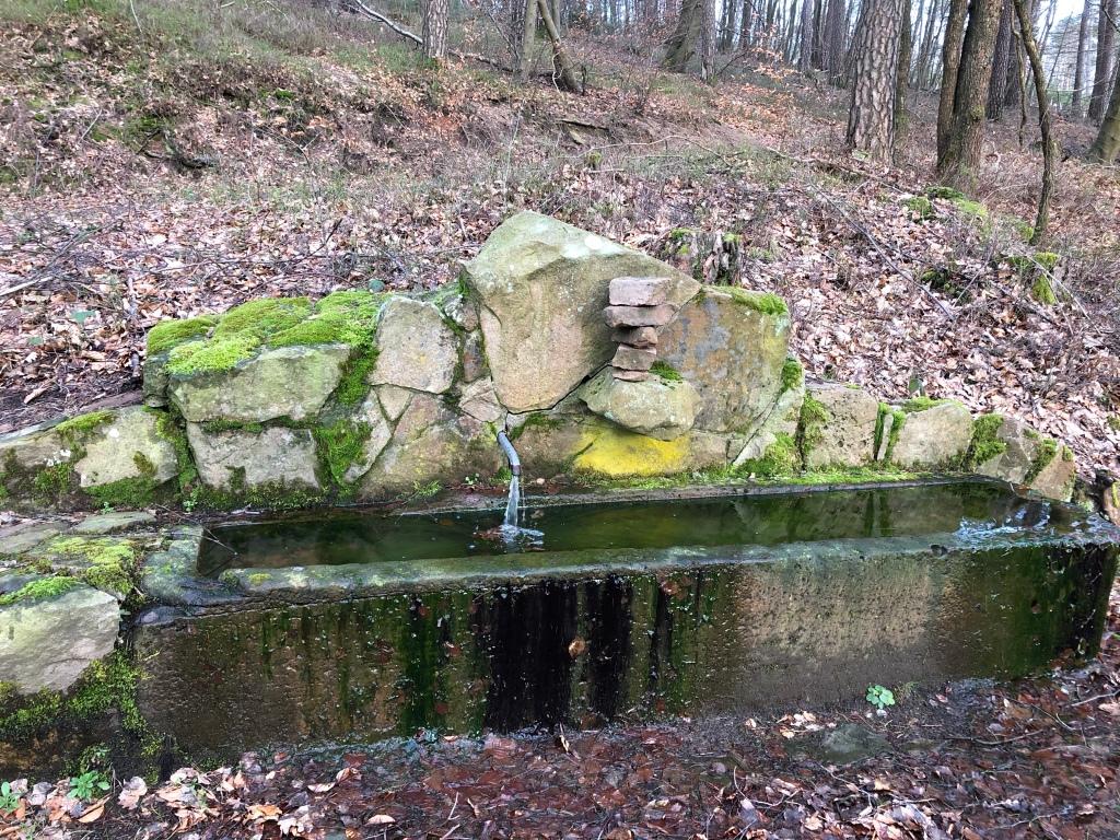 Brunnen Oberzent  Falken-Gesäß