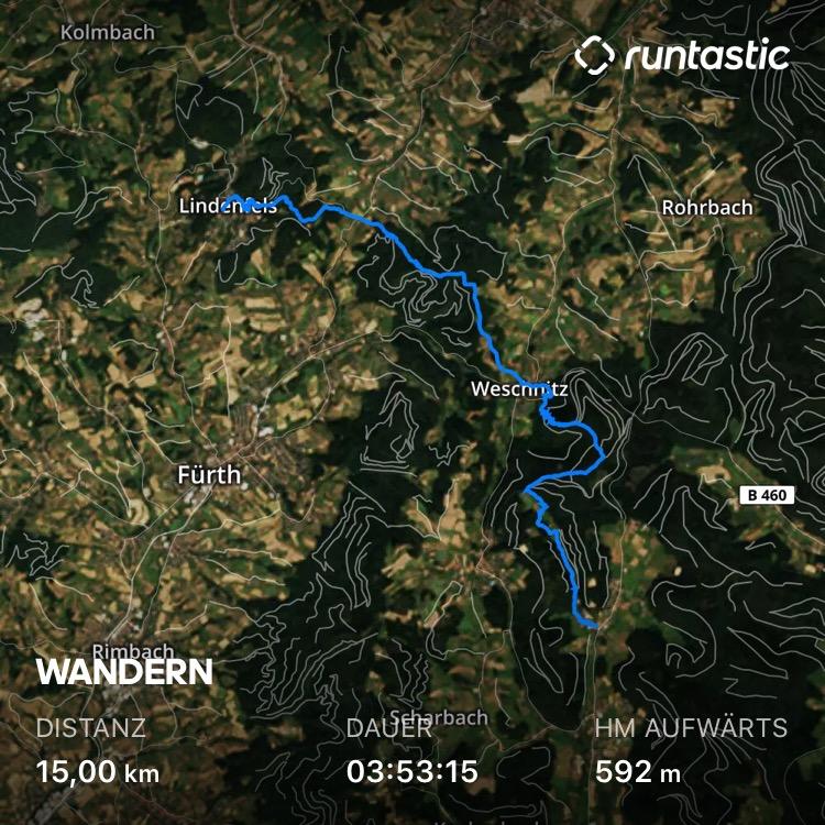 Nibelungensteig - Etappe 2